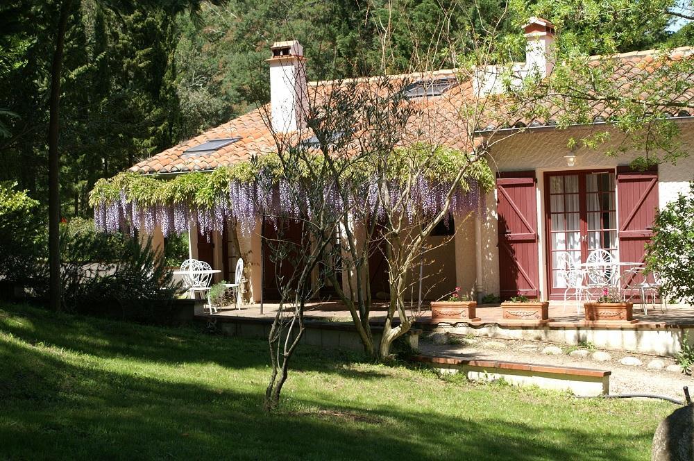 Die Fontanilles. das Haus Roquecourbe